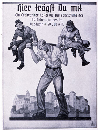 nazi-race-poster